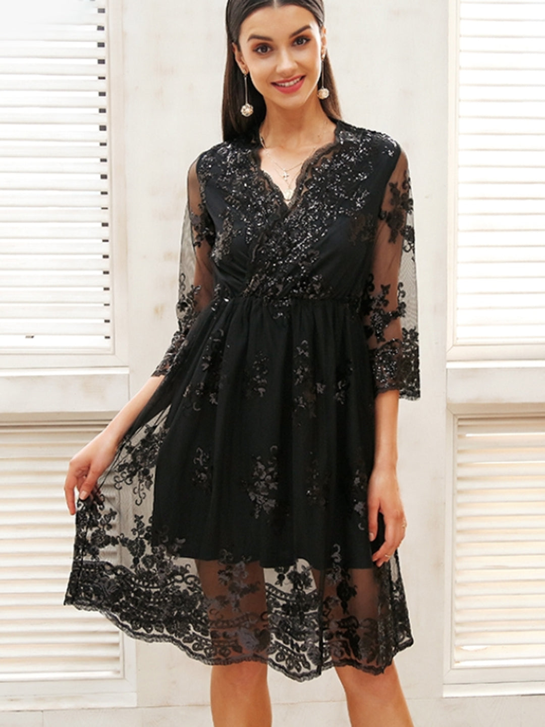 Kate Sequin Party Dress