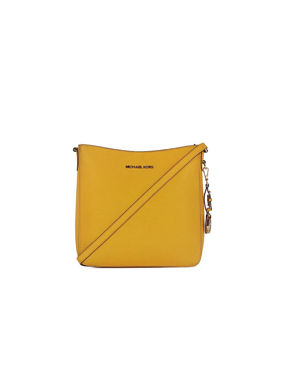 Michael Kors Crossbody Yellow Saffiano Shoulder Bag