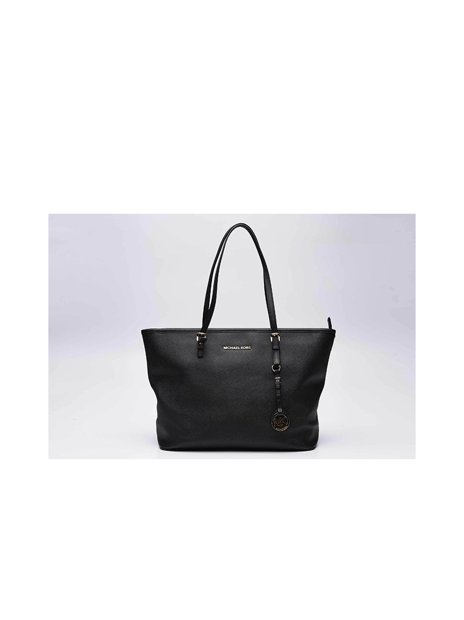 Michael Kors Black Jet Set Classic Tote Bag