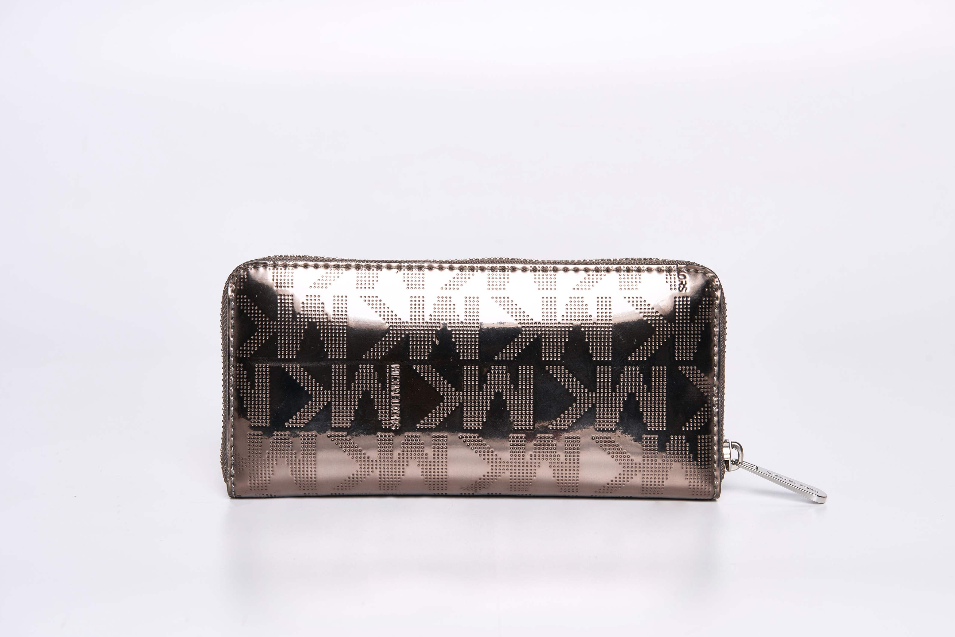 Michael Kors Silver Metallic Wallet