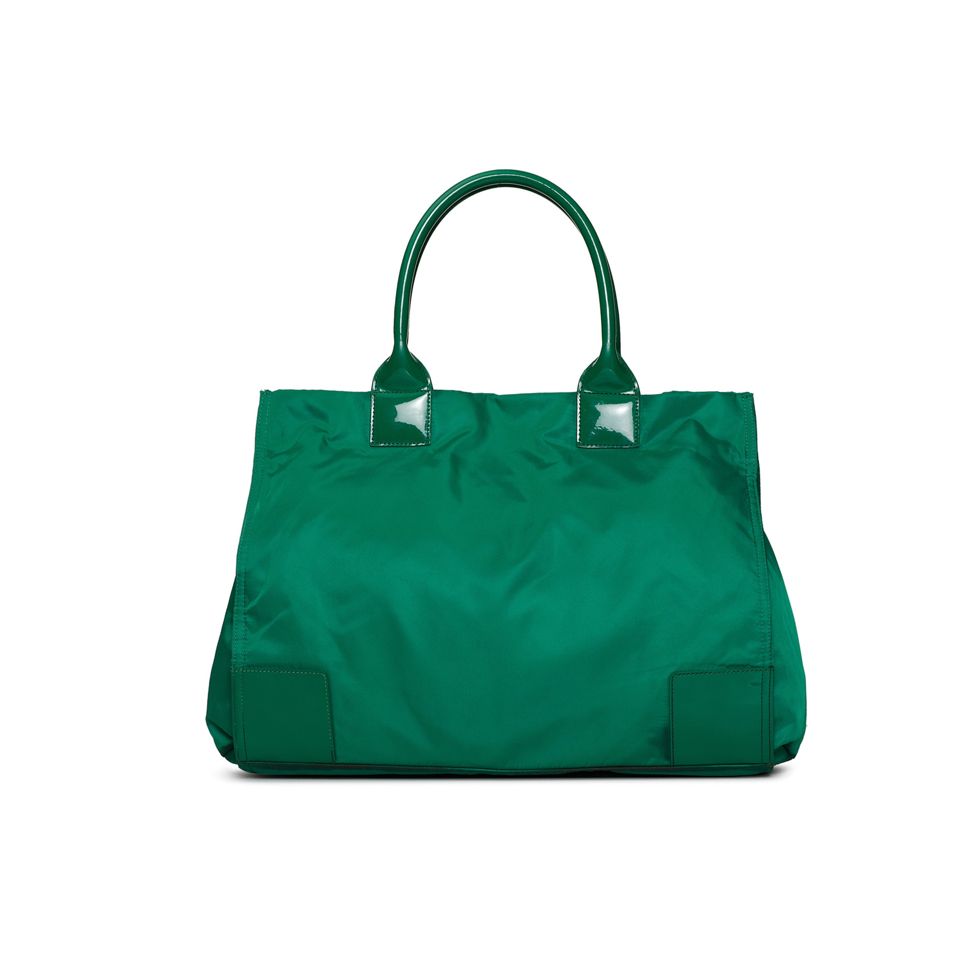 Tory Burch Ella Green Nylon Tote