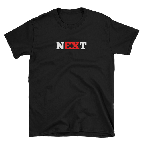 Black Next Short-Sleeve Unisex T-Shirt