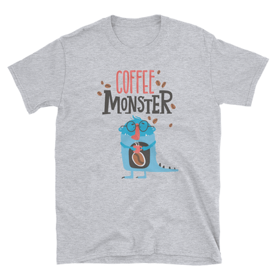 Coffee Monster Short-Sleeve Unisex T-Shirt
