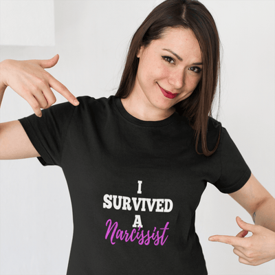 I Survived A Narcissist Short-Sleeve Unisex T-Shirt