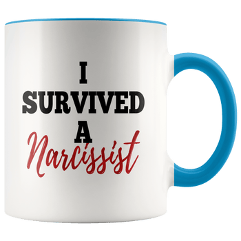 I Survived A Narcissist Mug