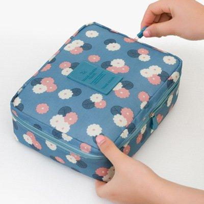 TRAVEL SEASON Waterproof Traveling Portable Storage Bag Makeup Bag