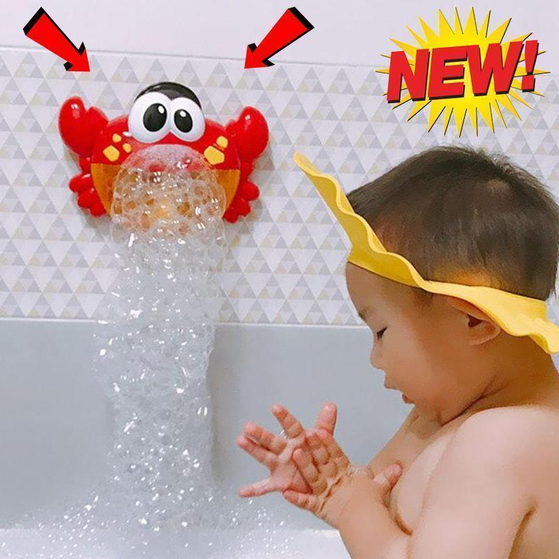 Stan BUBBLE CRAB BATH TOY