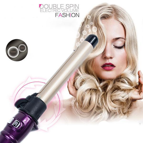 (80%OFF) Professional Rotating Curling Iron