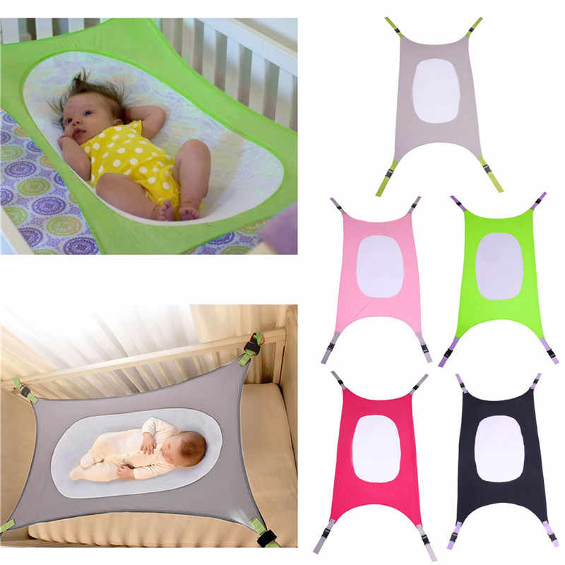 Baby Hammock Bed Photography Folding Baby Crib Infant Portable Beds Folding Hammock Crib