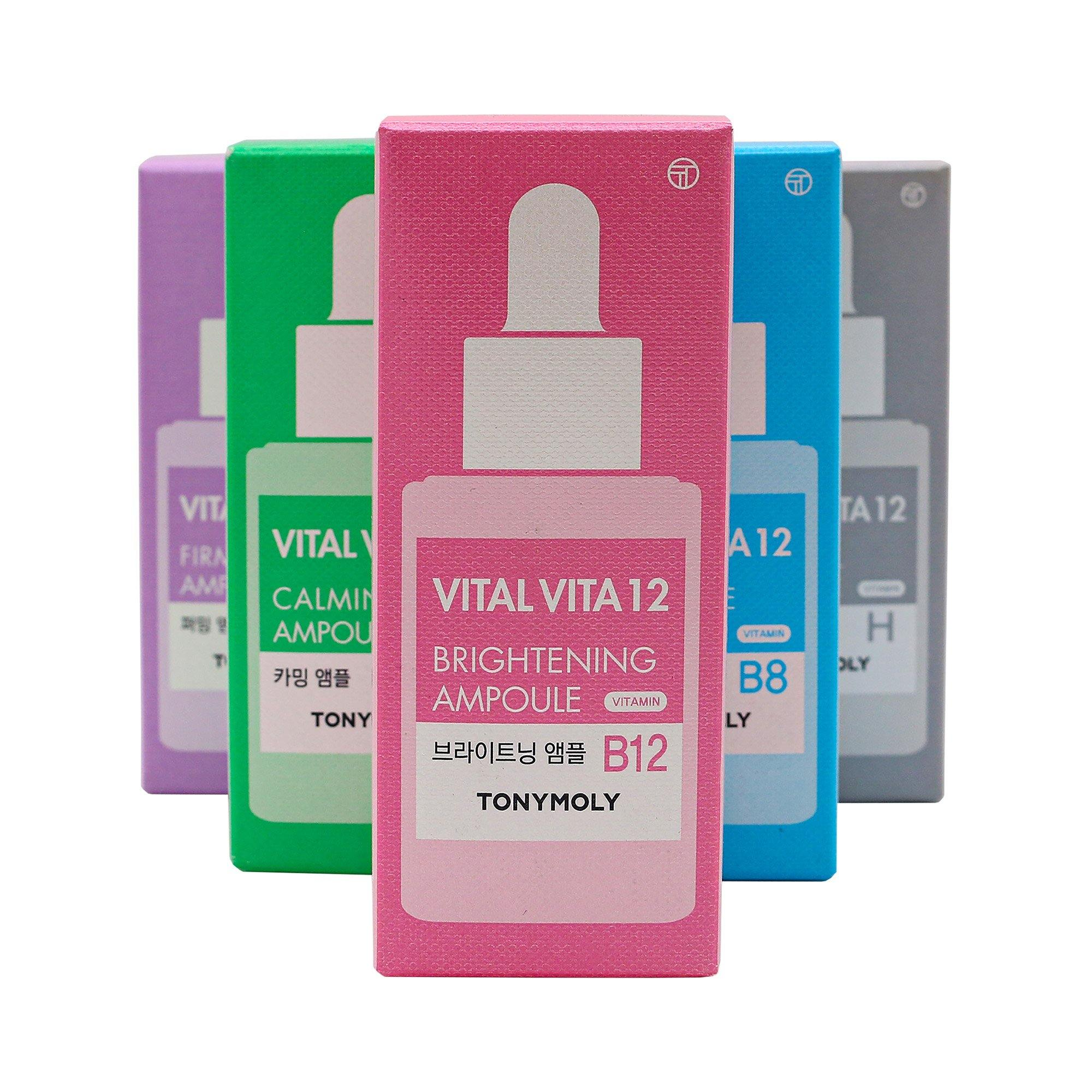 TONYMOLY Vital Vita 12 - Brightening Ampoule - TONYMOLY OFFICIAL