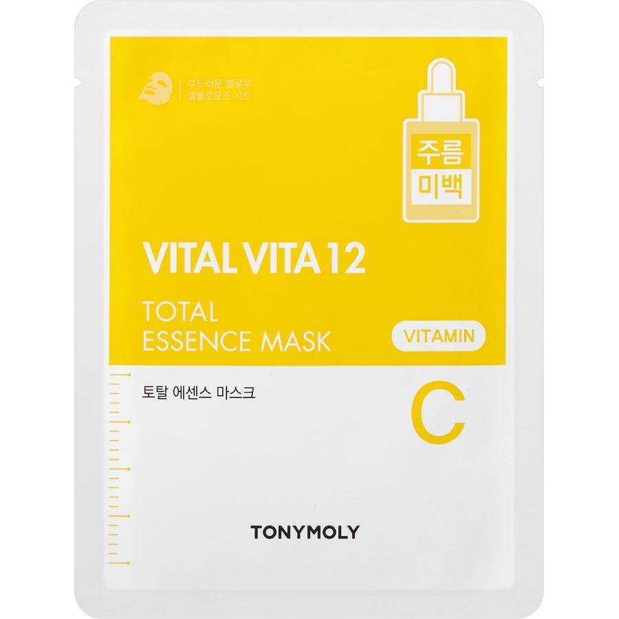 TONYMOLY Vital Vita 12 Total Essence Mask - Vitamin C - TONYMOLY OFFICIAL