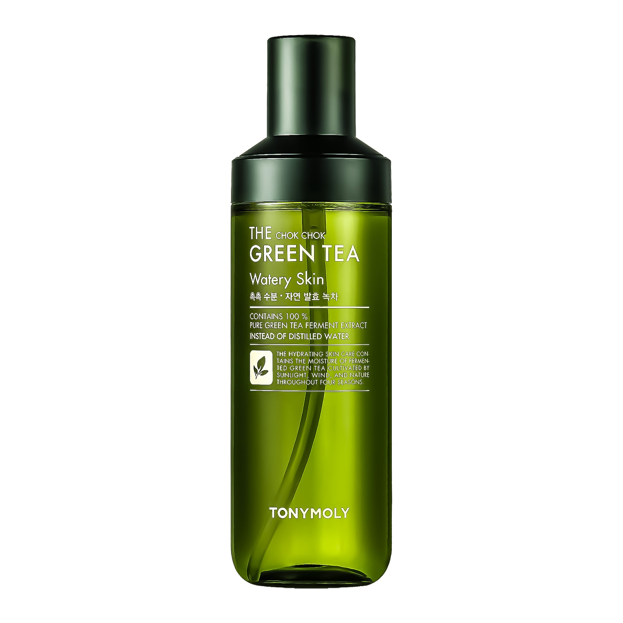 TONYMOLY The Chok Chok Green Tea Watery Skin (Toner) - 180ml | Korean Skin Care