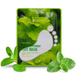 TONYMOLY Fresh Peppermint Foot Mask - 16g - TONYMOLY OFFICIAL