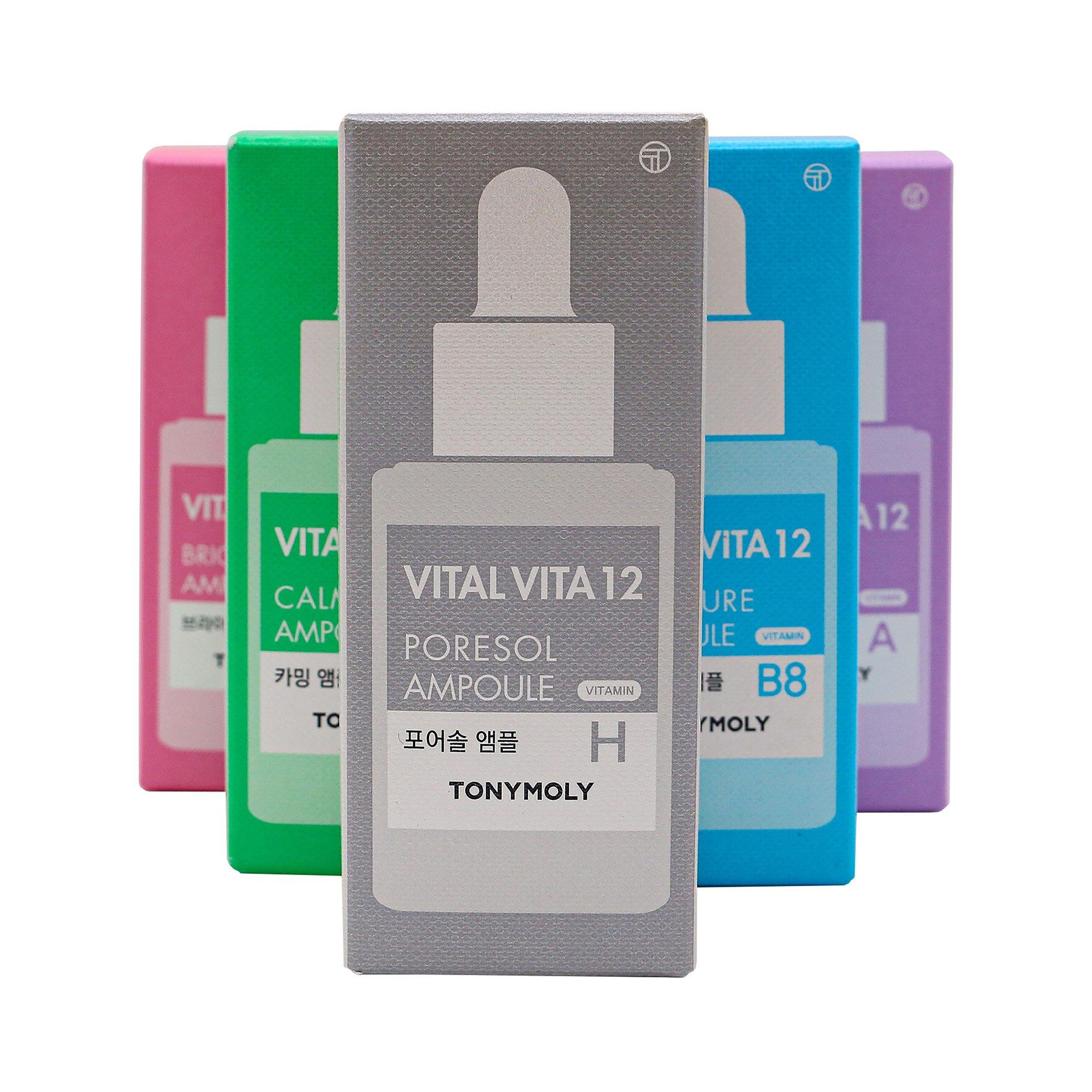TONYMOLY Vital Vita 12 - Pore Care Ampoule 30ml - TONYMOLY OFFICIAL