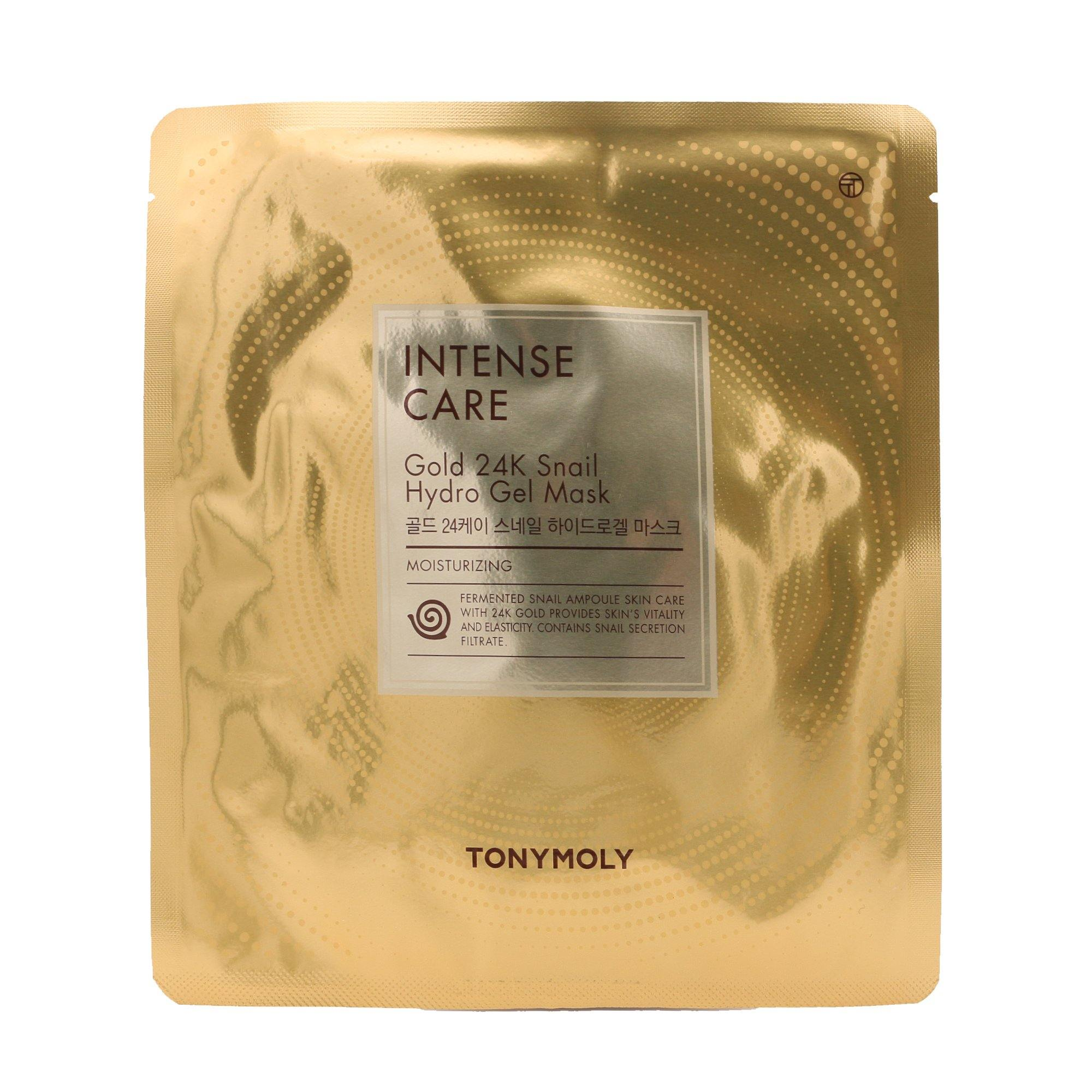 TONYMOLY Intense Care Gold 24k Snail Hydrogel Mask - TONYMOLY OFFICIAL