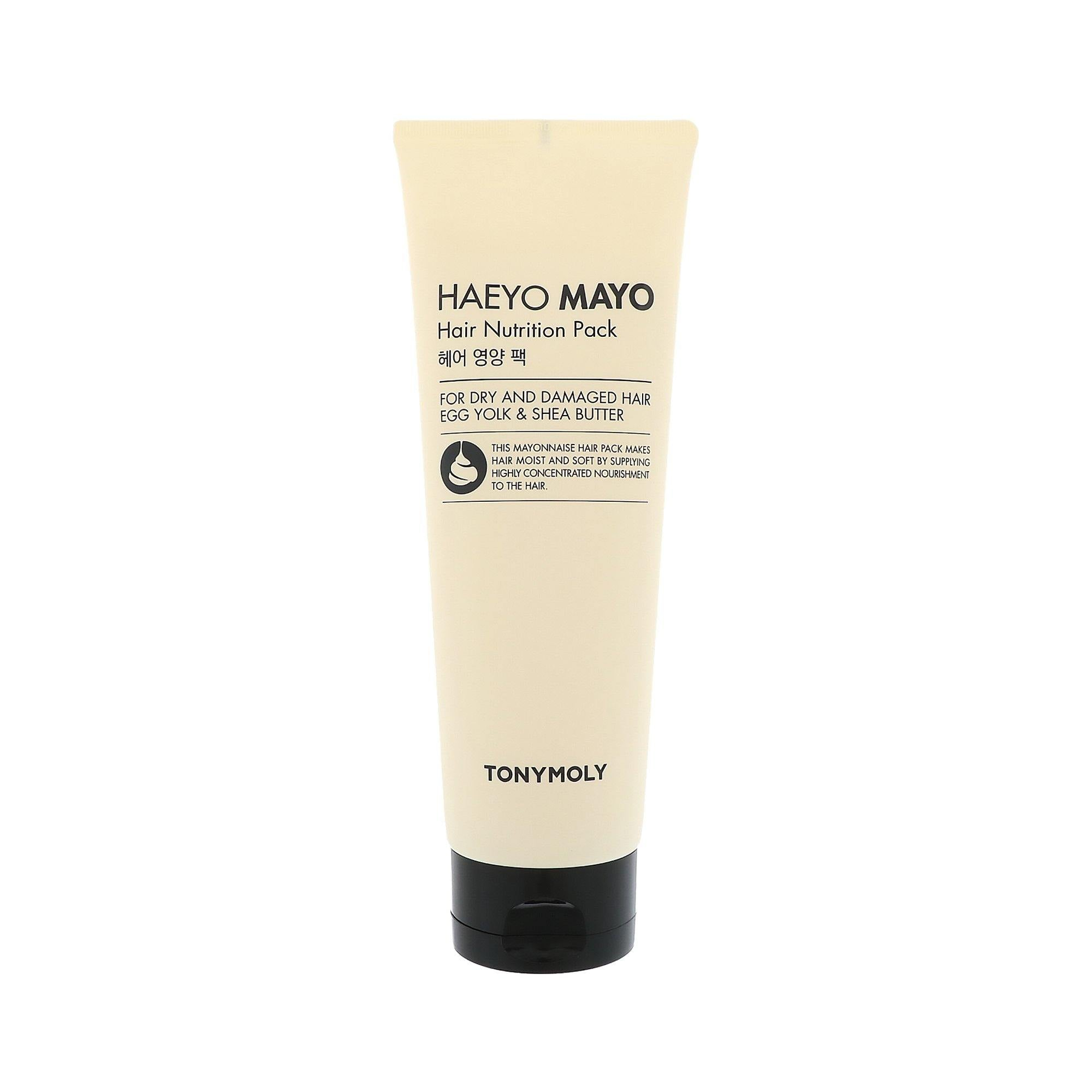 TONYMOLY Haeyo Mayo Hair Nutrition Mask - 250ml | Hydration ¦ Korean Skin Care