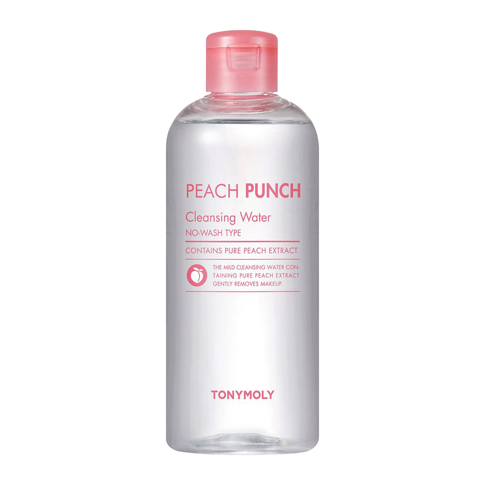 TONYMOLY Peach Punch Cleansing Water 300ml | Korean Skin Care