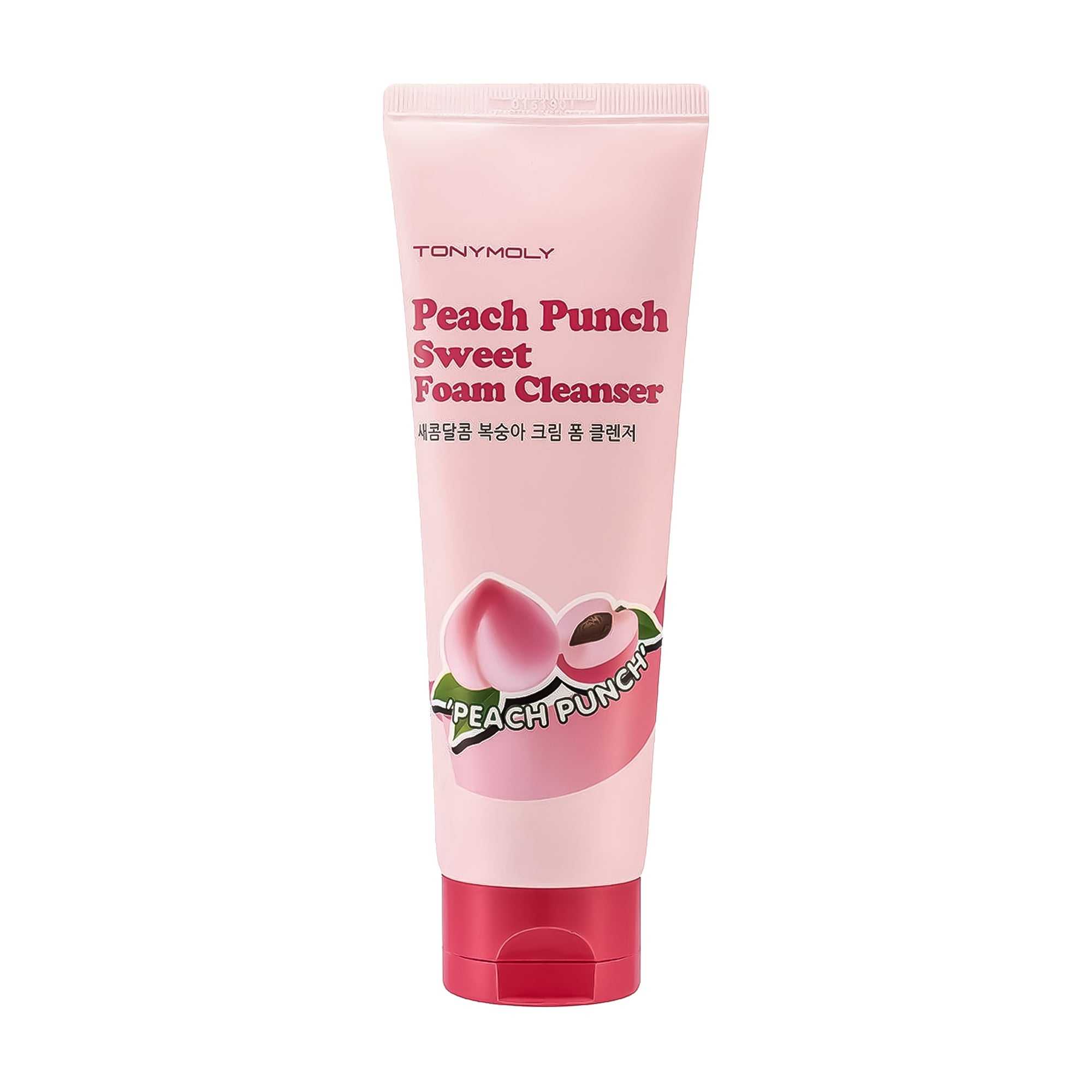 TONYMOLY Peach Punch Sweet Foam Cleanser 150 ml | Korean Skin Care