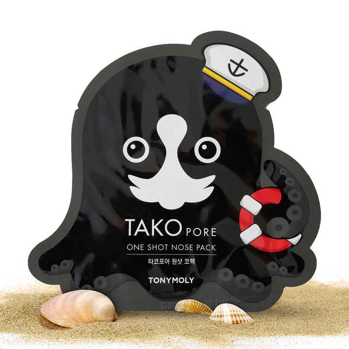 TONYMOLY Tako Pore One Shot Nose Pack - TONYMOLY OFFICIAL