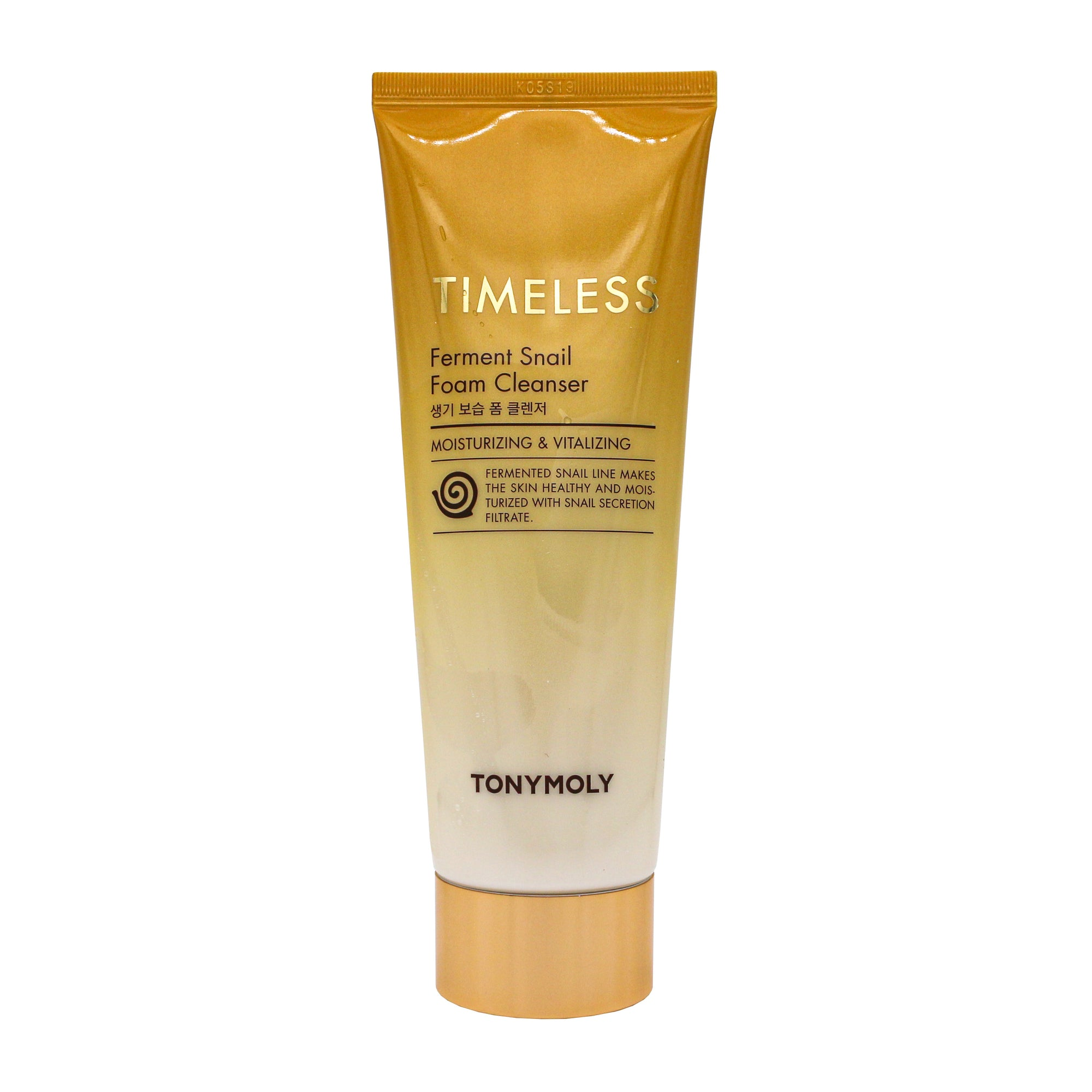 TONYMOLY Timeless Ferment Snail Foam Cleanser 150ml | Korean Skin Care