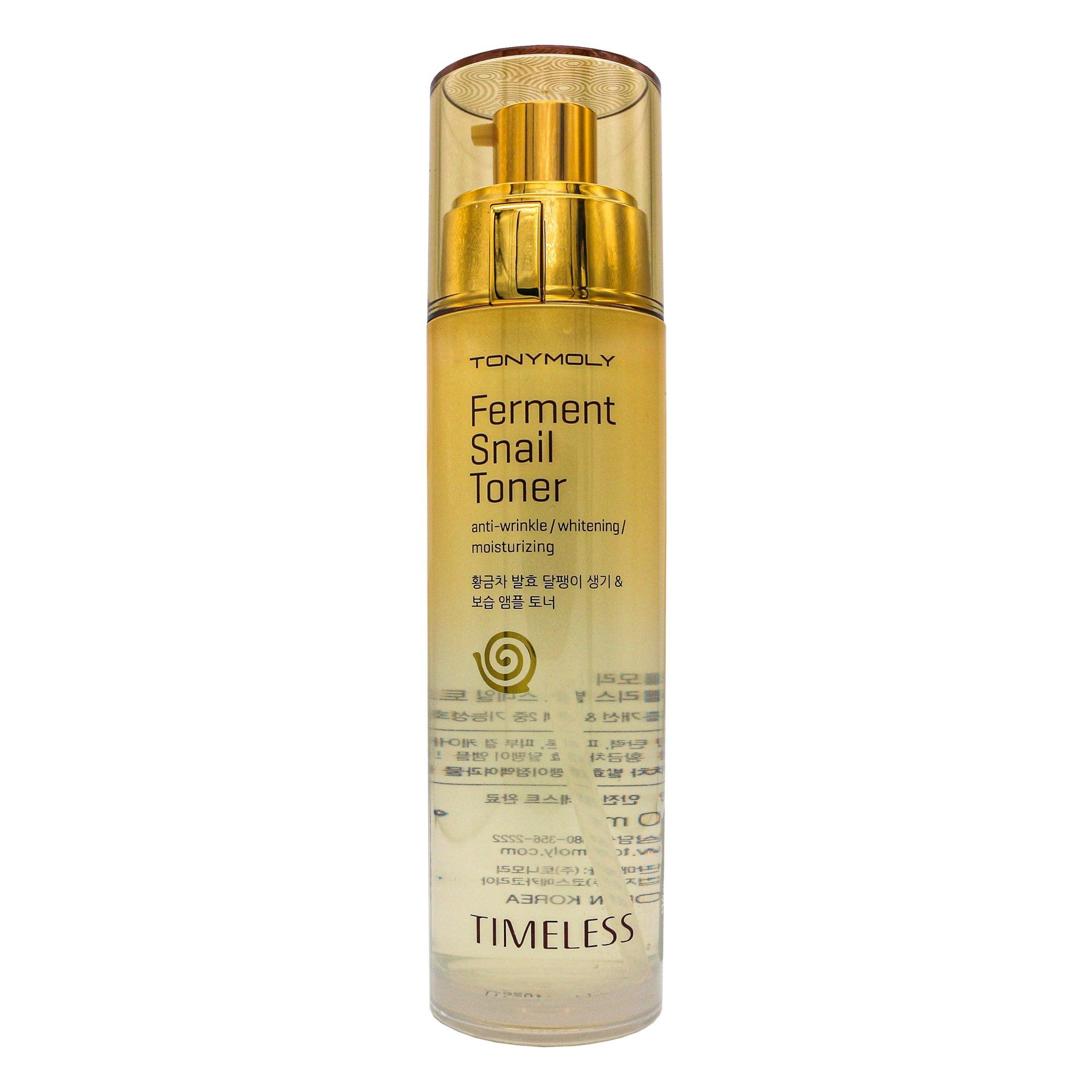 TONYMOLY Timeless Ferment Snail Toner 140ml | Korean Skin Care