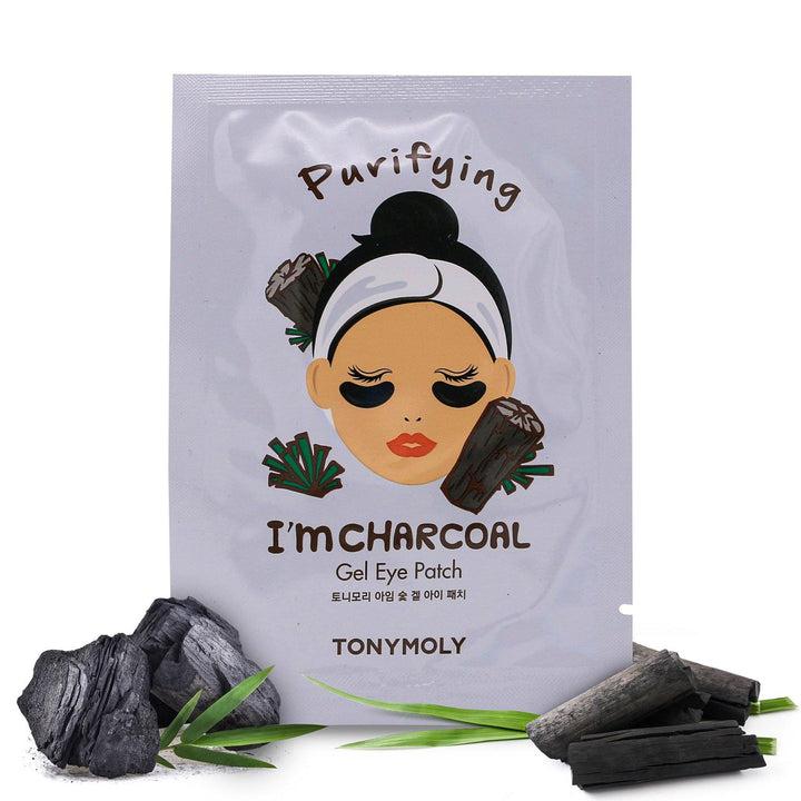 TONYMOLY I'm Charcoal Eye Patch - Hydrogel - TONYMOLY OFFICIAL