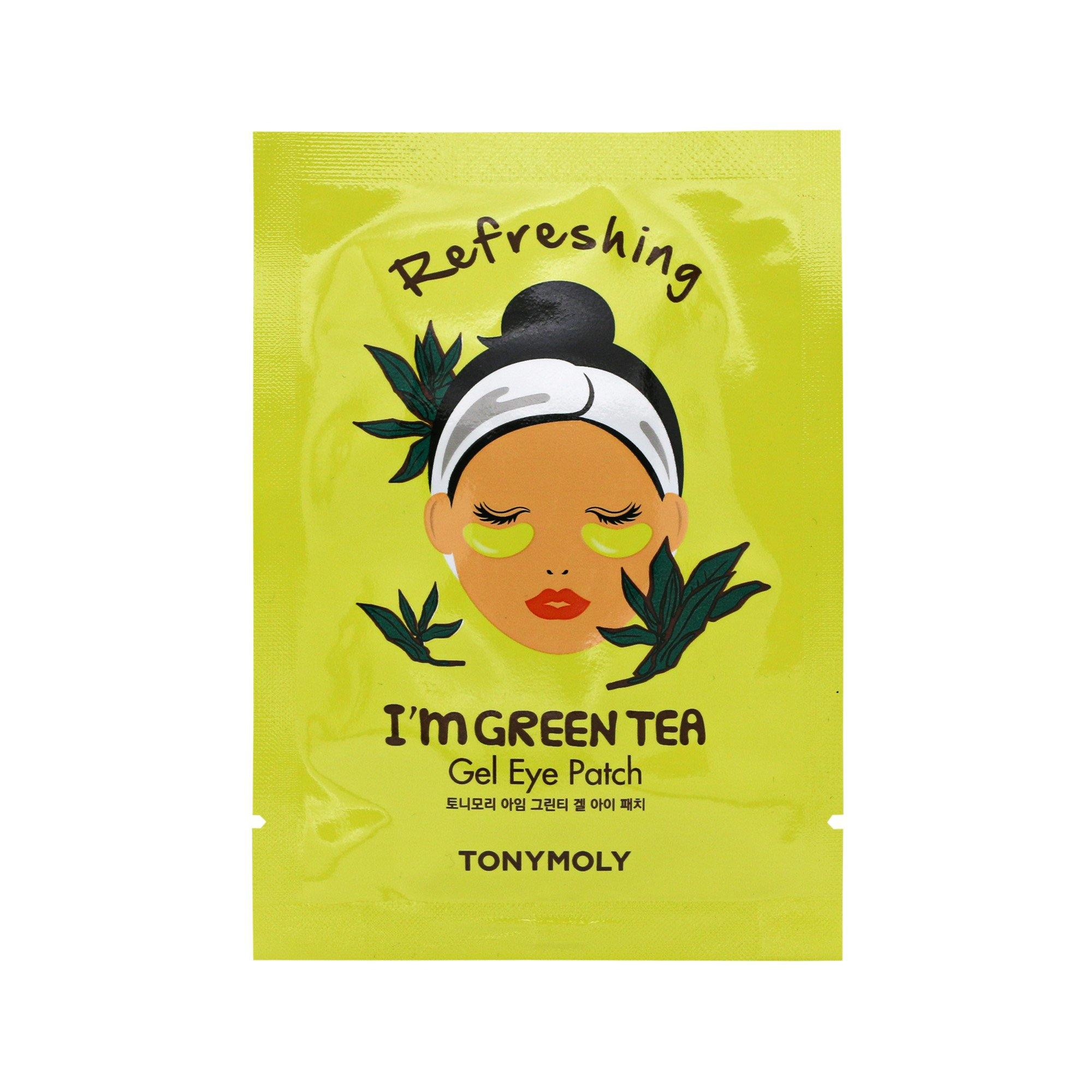 TONYMOLY I'm Green Tea Eye Patch - Hydrogel | Korean Skin Care
