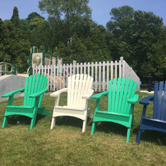 Chairs By The Playground- Egg Harbor Marina