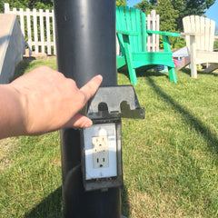 Outdoor Outlets- Phone Charging & Pumping Station