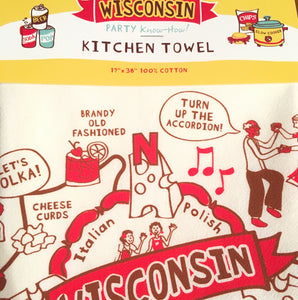 Towel- Wisconsin Party Design