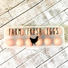 Load image into Gallery viewer, Egg Carton- Farm Fresh Eggs