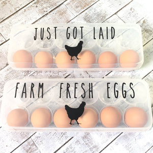 Egg Carton- Farm Fresh Eggs