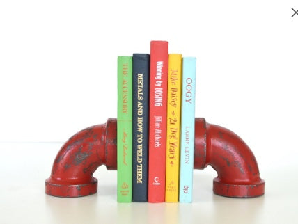 Bookends- Red