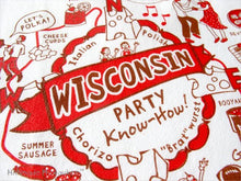 Load image into Gallery viewer, Towel- Wisconsin Party Design