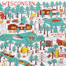 "Load image into Gallery viewer, Puzzle- Wisconsin ""Up North"" Design"