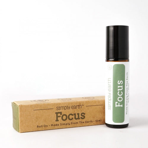 Essential Oil,  Roll-On- Focus