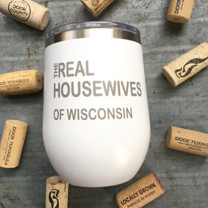 Cup- Real Housewives WI, White