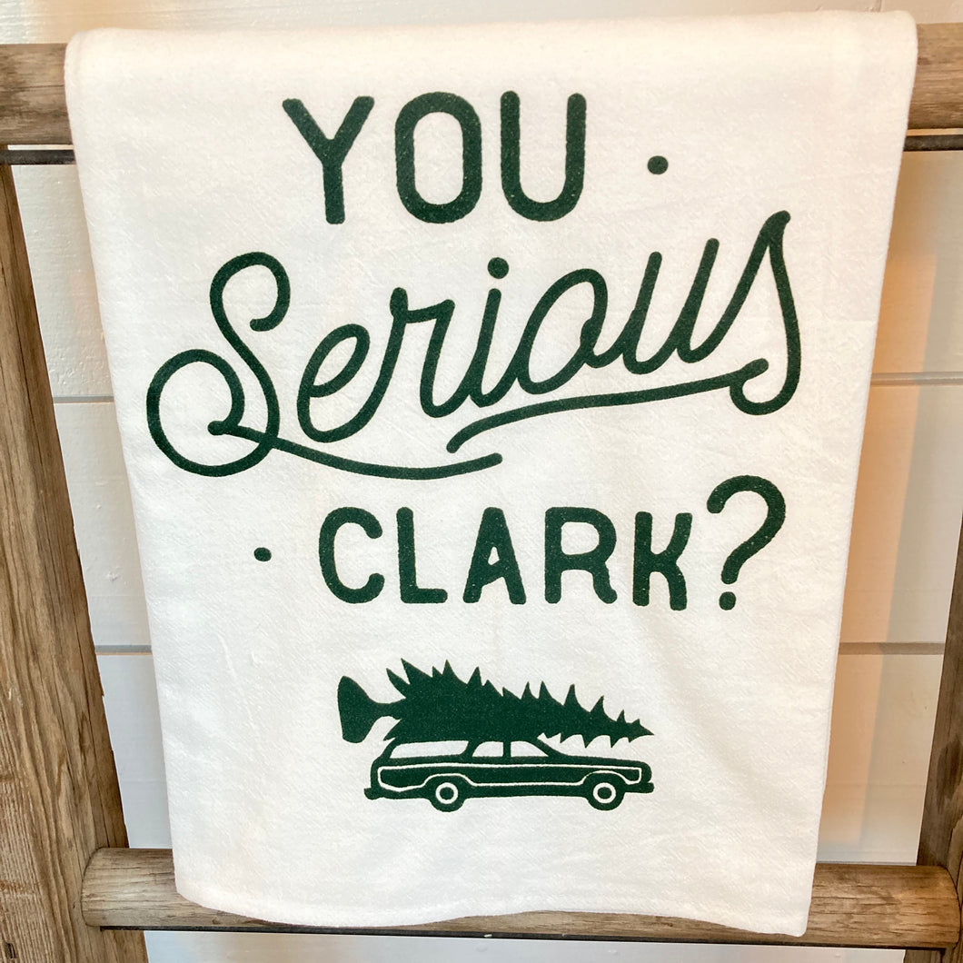 Towel- Serious Clark