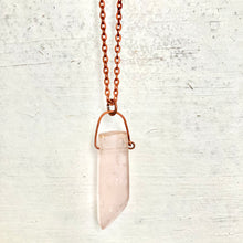 Load image into Gallery viewer, GS- Rose Quartz Necklace