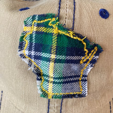 Load image into Gallery viewer, WI Hat- Khaki Plaid