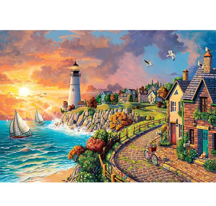 Paint By Number Kit- Lighthouse