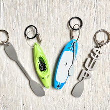 Load image into Gallery viewer, Keychain- Metal Paddle