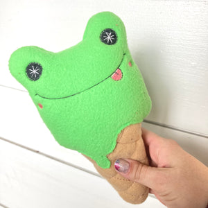 Stuffed Ice Cream- Frog