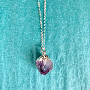 GS- Amethyst Necklace