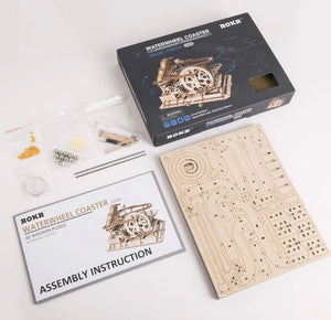 Wood 3D Puzzle- Marble Obstacle Course