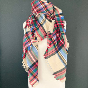 Blanket Scarf- Multi