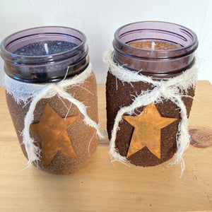 Candle- Blueberry w/ Cinnamon & Sugar Jar