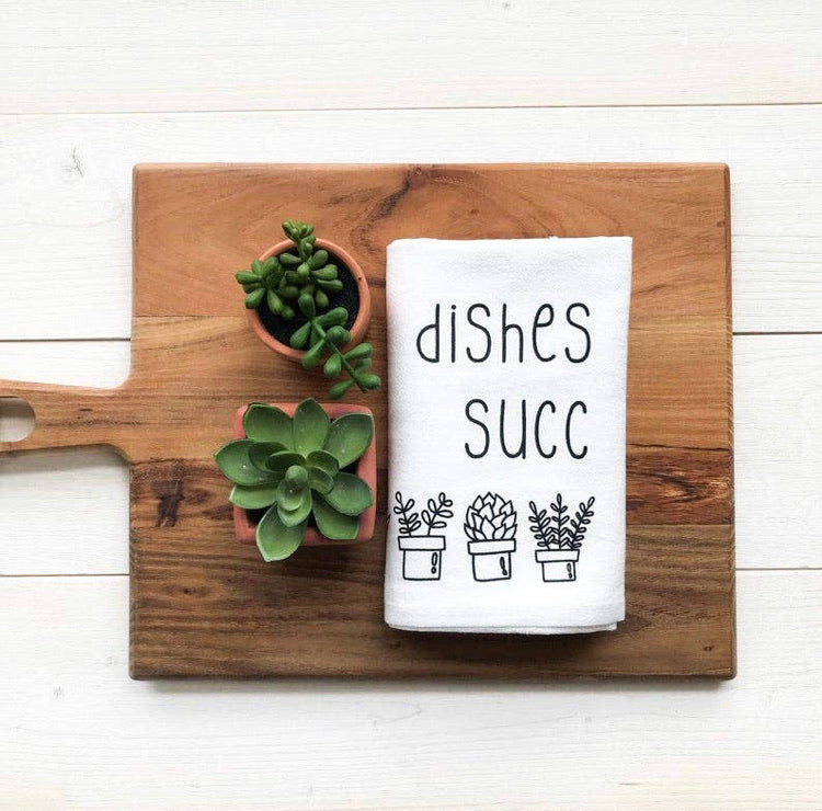 Towel- Dishes Succ