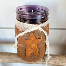 Load image into Gallery viewer, Candle- Blueberry w/ Cinnamon & Sugar Jar