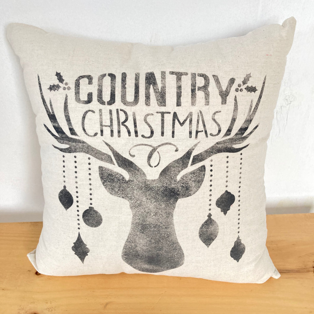 Pillow- Christmas Deer